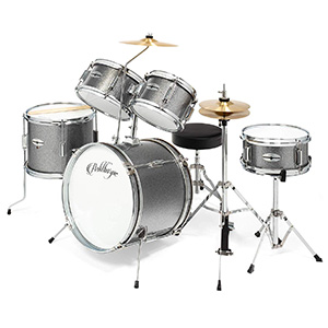 Ashthorpe 5-Piece Complete Junior Drum Set