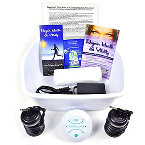BHC Detox Ionic Foot Bath Machine