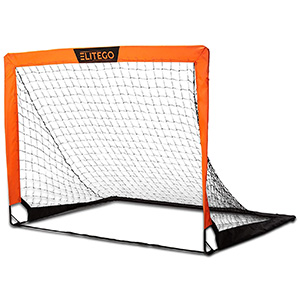 EliteGo Portable Soccer Goal Instant Pop Up Net