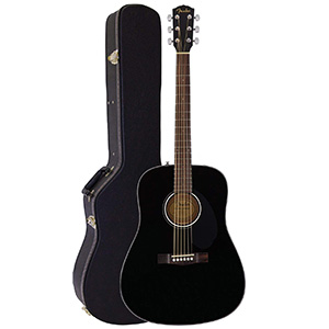 Fender Solid Top Dreadnought Acoustic Guitar