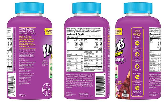 Flintstone Vitamins' Children's Multivitamin Gummies