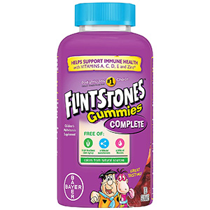 Flintstone Vitamins' Children's Multivitamin Gummies