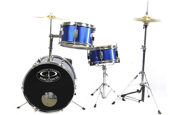 GP Percussion Complete Junior Drum Set