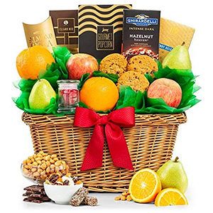 GiftTree Five Star Fruit Basket