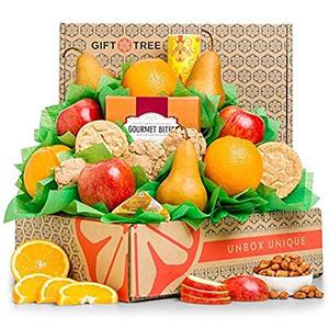 GiftTree Fresh Fruit & Cookies Gift Basket