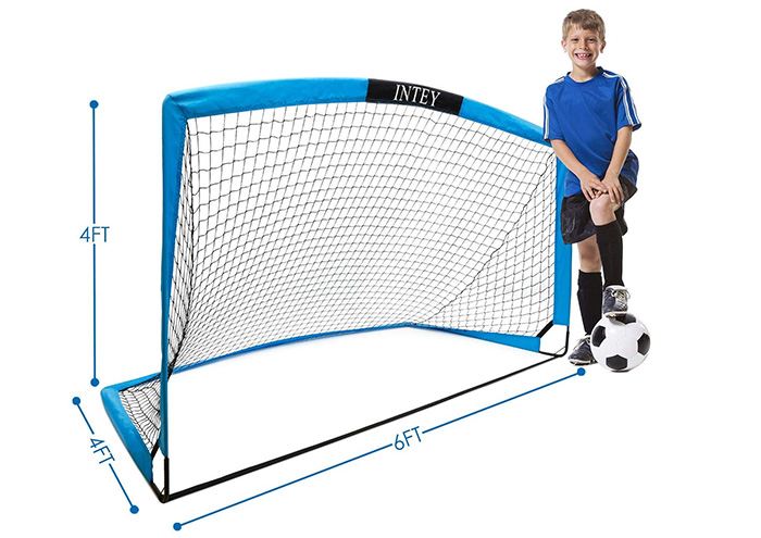 INTEY Soccer Goal Portable Soccer Nets for Games and Training