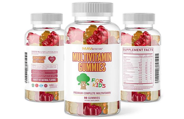 MAV Nutrition Multivitamins for Kids Gummies