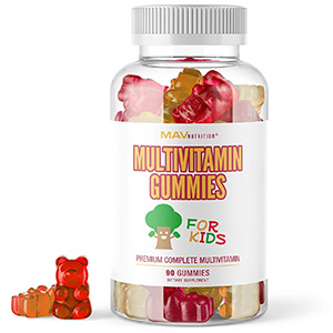 MAV Nutrition Multivitamins for Kids Gummies