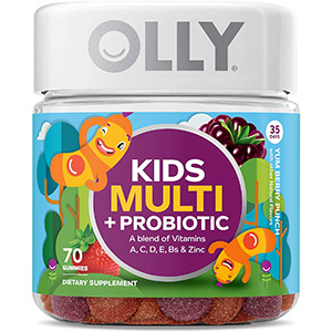 Olly Kids Multi + Probiotic Gummy Multivitamins