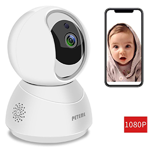 Peteme Home WiFi Security Camera Baby Monitor