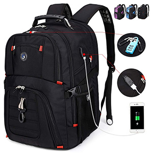 SOLDIERKNIFE Extra Large Durable Travel Laptop Backpack