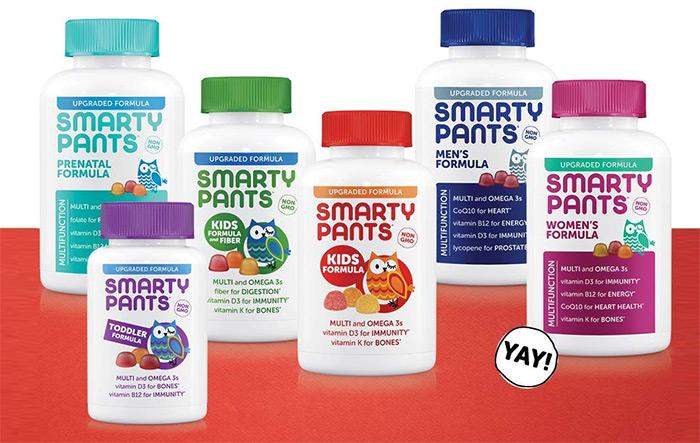 SmartyPants Vitamins Kids Formula Daily Gummy Vitamins