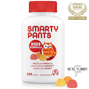SmartyPants Vitamins Kids Formula Daily Gummy Vitamins