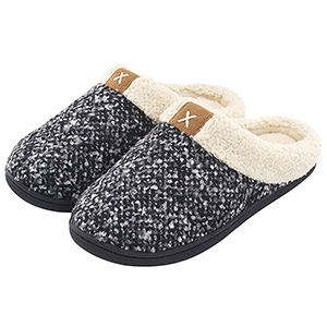 UltraIdeas Women's Cozy Memory Foam Fuzzy Slippers