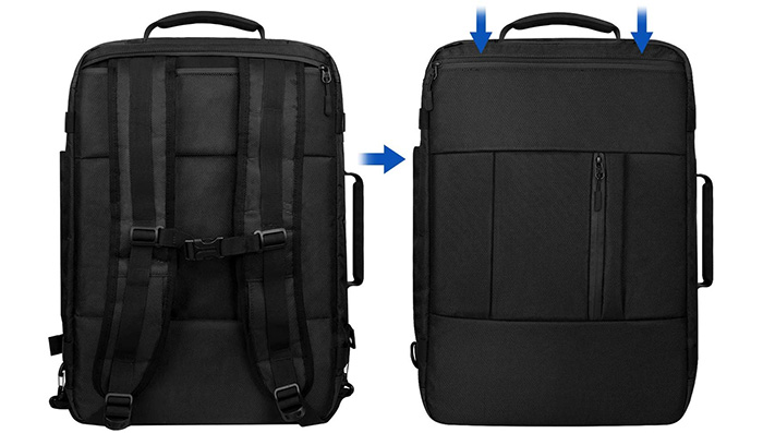 VSNOON Carry On Laptop Flight Approved Travel Backpack